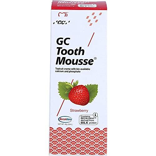 GC Tooth Mousse Erdbeere Creme, 40 g Zahncreme