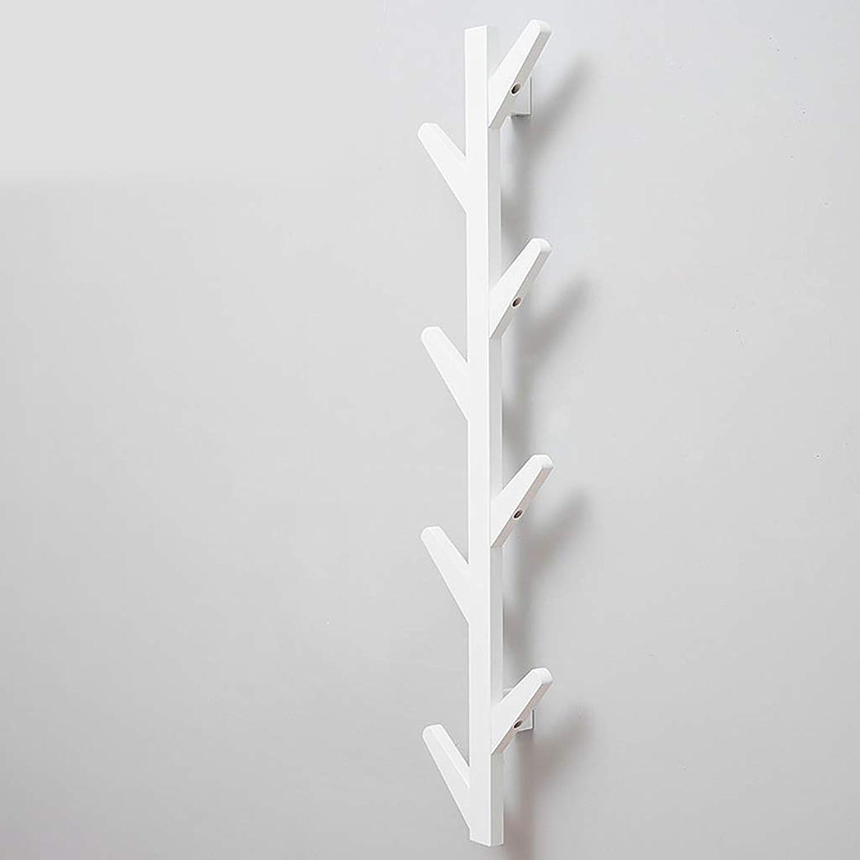 Coat Rack Wall Coat Racks, Bamboo Wall Display Storage,Wall Coat Rack Bathroom Kitchen Cupboard (color   C, Size   7  25  98cm)