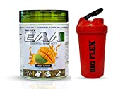 Bigflex EAA (Essential Amino Acids) Green Mango 450 Gm + Bigflex Shaker Free Contains Essential Amino Acids including BCAA. our body cannot make essential amino acids. To acquire the same, protein consumption or supplementation is needed Bigflex EAA ...