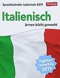 Sprachkalender Italienisch - Kalender 2019: Italienisch lernen leicht gemacht - Harenberg