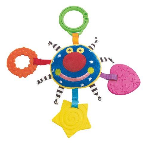 Anneau de dentition et jouet de voyage Whoozit Orbit de Manhattan Toy