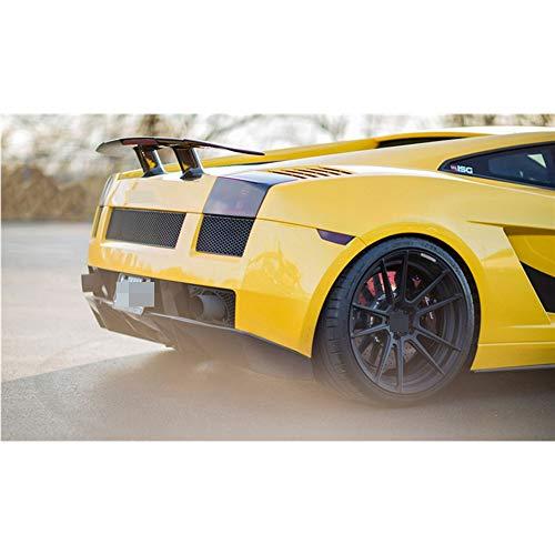 XBXDM Fibra di Carbonio Carbonio Spoiler Posteriore GT Spoiler Ala per Lamborghini Gallardo Spoiler Posteriore Ali LP550 LP550 LP560 2004-2012