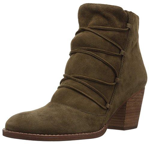 Sam Edelman Women's Millard Ankle Boot, Deep Moss Leather, 5 Medium US