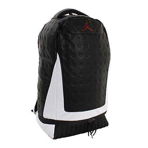 Nike Jordan Retro 13 Backpack - Black/White 9A1898-210