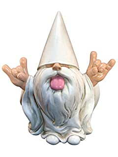 Rocker Gnome George GlitZGlam Figurine