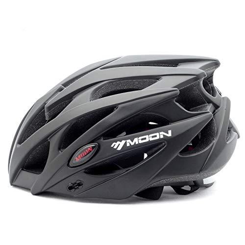 MOON 自転車 ヘルメット ロードバイク サイクリング ヘルメット 超軽量 高剛性 サイズ調整 25通気穴 スポーツ 大人 男女兼用 (MV-29124-L)