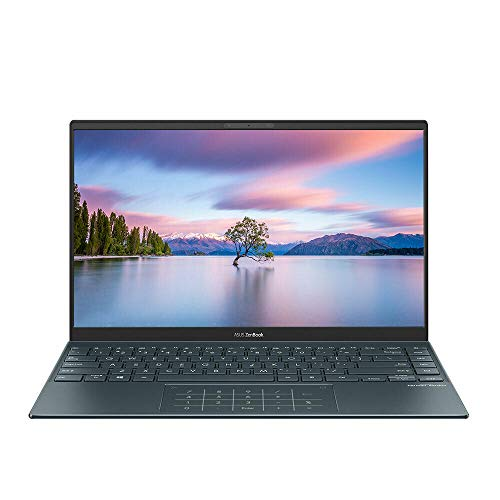 ASUS Zenbook UM425IA-AM080R 14' Full HD Laptop AMD Ryzen 5 4500U, 8GB RAM, 256GB SSD, Backlit Keyboard, Windows 10 Pro, Pine Grey - UM425IA-AM080R