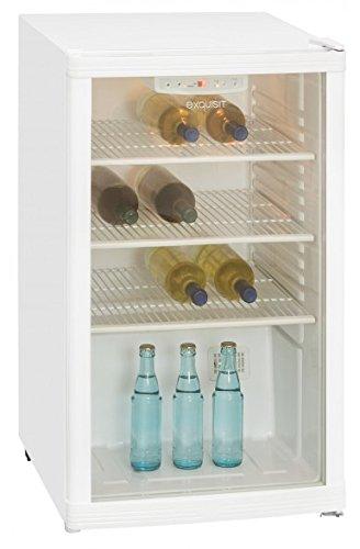 Exquisit BC1-10-4.1E Freistehend 115l Weiß Kühlschrank (115 l, Weiß)
