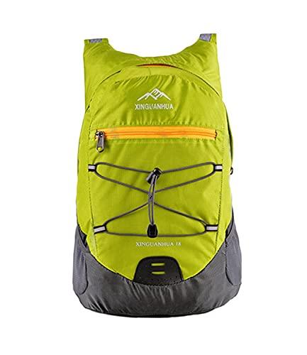 Idefair Mochila de viaje plegable, mochila ligera Mochila de camping Mochila impermeable para hombres Mujeres Caminar Camping Escalada Trekking Ciclismo Deportes al aire libre