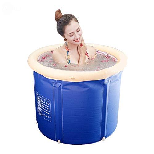 CNSFFS Portable Foldable Bathtub  Bathtub Folding Bath Bucket Foldable  Large Adult Tub Babyswimming Poolinsulation Separate  Family Bathroom Spa Tub 65*70cm   Garten > Swimmingpools   CNSFFS