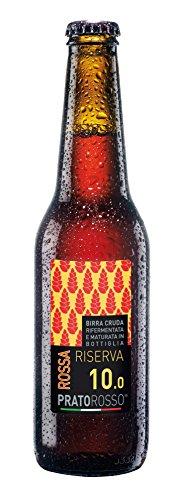 Cerveza roja Pratorosso Reserva 33cl