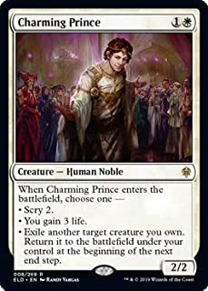 Magic: The Gathering - Charming Prince - Throne of Eldraine
