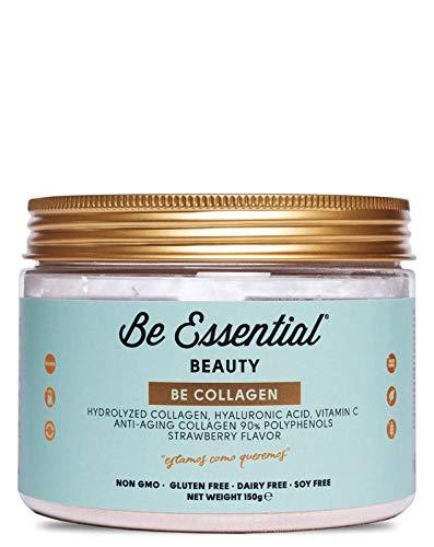 Be Collagen - collageno hydrolyzed, acido hialurónico y Vitamina C. Anti-edad. Sabor...