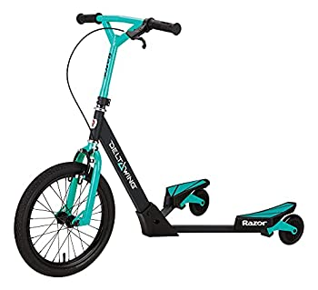 Razor DeltaWing Scooter Black/Mint Green One Size