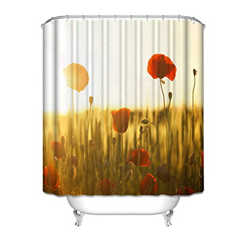 Shower Curtain Custom Unique Design The Nightmare Before Christmas Skull Tenda per Doccia in Tessuto Impermeabile