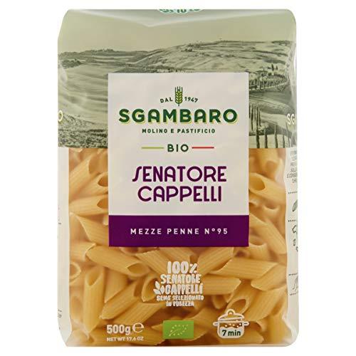 Pasta Sgambaro - Mezze Penne Rigate - Senatore Cappelli Bio - 500 gr