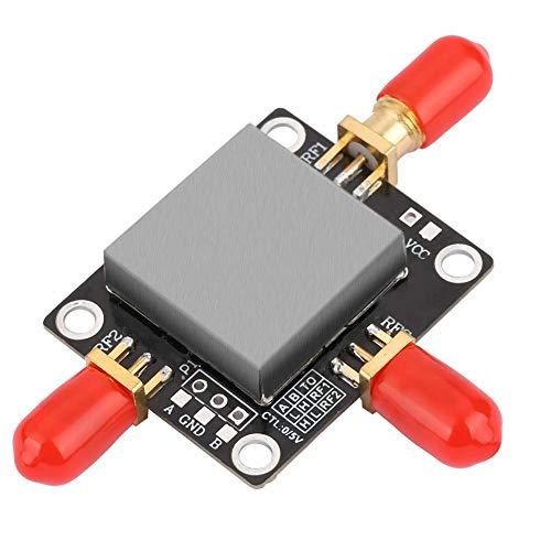 Jacksing Interruptor Spdt RF, Conveniente Amplificador RF, para Amplificador Receptor Amplificador(DC-4GHZ)