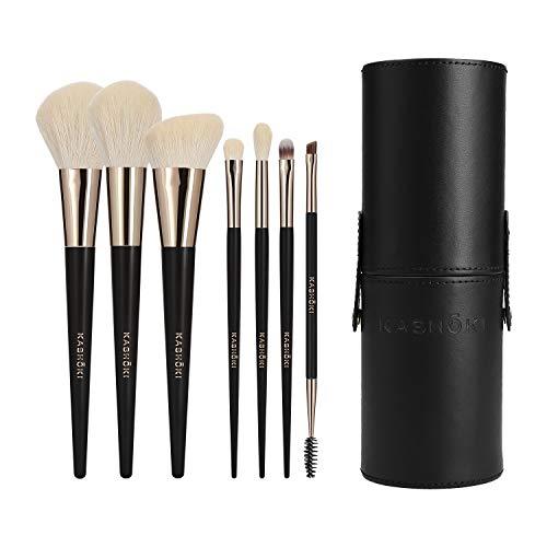 T4B KASHOKI Mu Suisen 8 Pcs Pinceaux De Maquillage Avec 1 Tube Porte Pinceaux