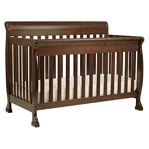 DaVinci Kalani 4-in-1 Convertible Crib in Espresso, Greenguard Gold Certified