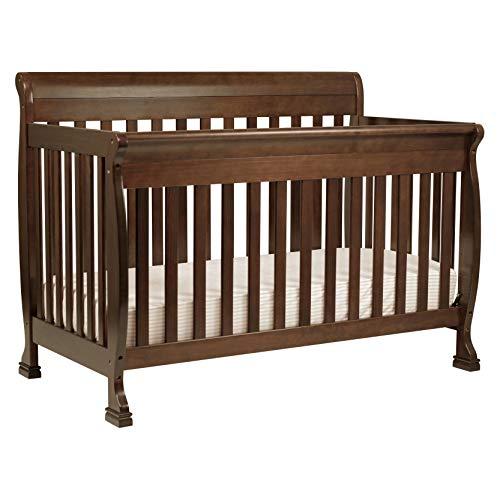 Hot Sale DaVinci Kalani 4-in-1 Convertible Crib with Toddler Rail, Espresso