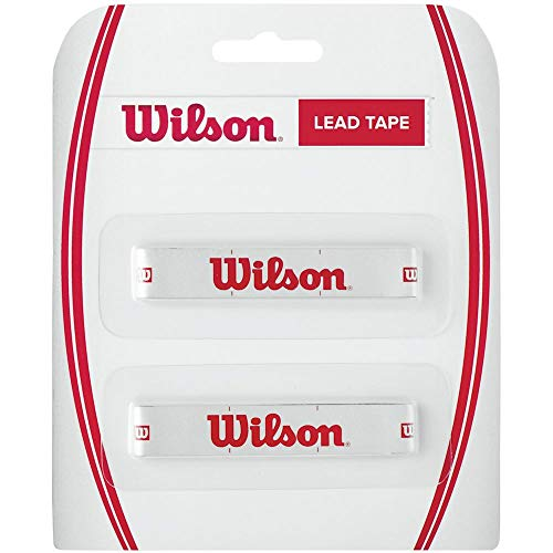 Wilson Lead Tape of Lead for Racket, White/Red, Size NS
