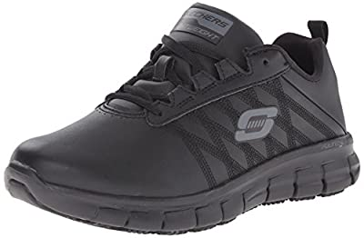 da584446fea7 Skechers for Work Sure Track Erath Athletic Lace Slip Resistant Boot. For  all you sporty ladies ...