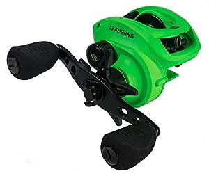 13 Fishing Inception Sport Z Inception Sport Z Baitcast Reel - 7.3: 1 Gear Ratio - Right Handed (Fresh+Salt),