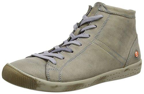 Softinos Isleen, Damen Hohe Sneaker, Beige (Taupe), 36 EU (3 UK)