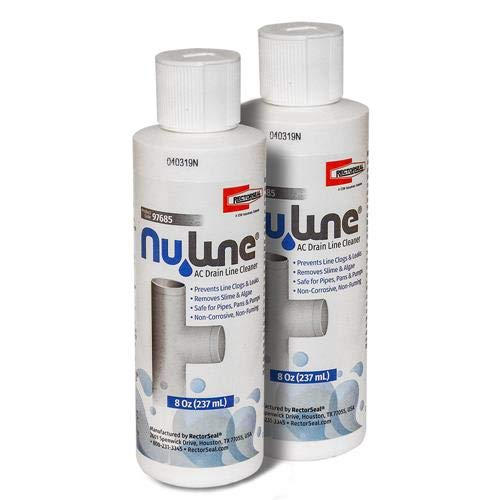 Fast Shipping! (2)-Pack NuLine HVAC Condensate Nu-Line Drain Cleaner, 8 Ounce