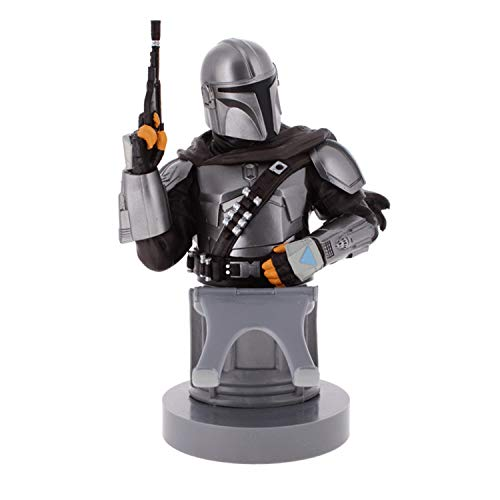 Cable Guy Star Wars The Mandalorian Figurine Compatible with Xbox One / PS4 / Smartphone and Other Controllers