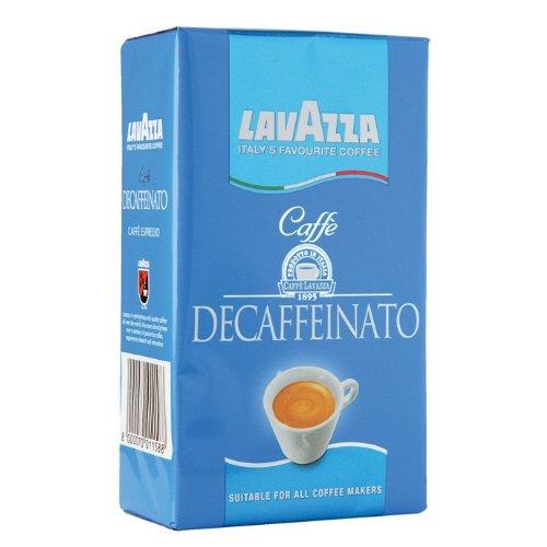 Lavazza Decaffeinated Ground Coffee 250g (4-pack)