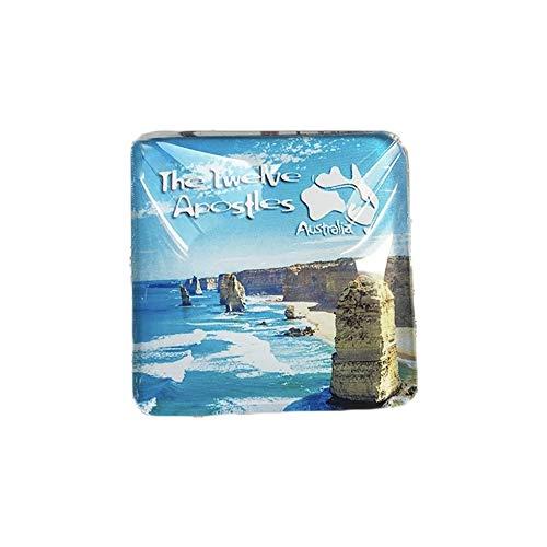 3dオーストラリア十二使徒冷蔵庫冷蔵庫マグネットクリスタルガラス手作り観光旅行お土産コレクションギフトホワイトボード磁気ステッカー家の装飾