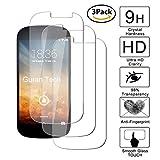 Guran® [3 Stück Bildschirmschutz Glasfolie für Yotaphone 2 Smartphone Hartglas Schutzfolie Film Kompatibel Panzerglasfolie