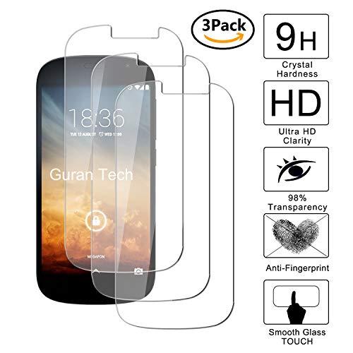 Guran [3-Unidades] Protector de Pantalla Vidrio Cristal Templado para Yotaphone 2 Smartphone Cristal Vidrio Templado Film (9H, 2.5D Edge, 0.3mm)