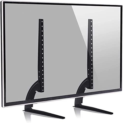 WERYU Supporto TVUniversale da TavoloGambe TV per la Maggior Parte deitelevisori da40-65 Pollicicon Regolazione dell'altezza Max VESA 400 Mm X 600 Mm Contiene 35 kg Max