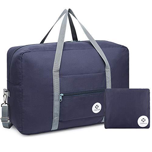 Bolsa de viaje plegable, ideal para fines de semana o llevar al gimnasio, perfecta...
