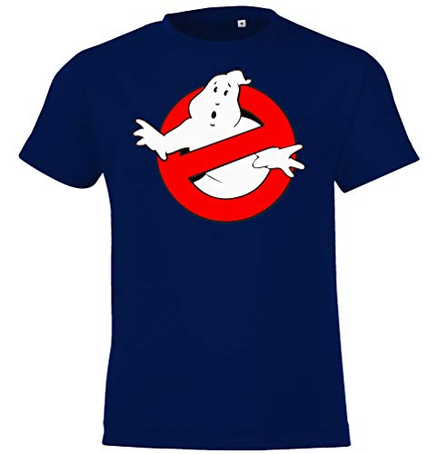 Kinder T-Shirt Modell Ghostbusters, Gr. 106/116 (6 Jahre), Navyblau