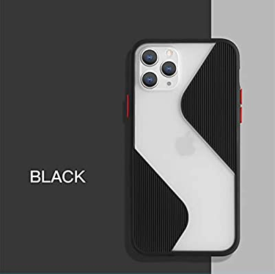 GADGET TECH New S Shape | Protective Camera iPhone Case | iPhone 11 PRO | Black from GADGET TECH