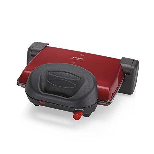 Arzum AR2012 Grill und Toaster, Sandwich Maker, red