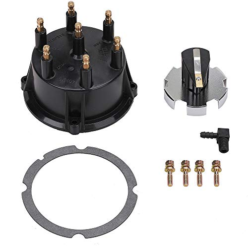 Distributor Cap and Ignition Rotor Kit for 4.3L V6 Engines with Thunderbolt IV and V HEI Ignitions - Replaces 815407Q5, 815407A2, 18-5274