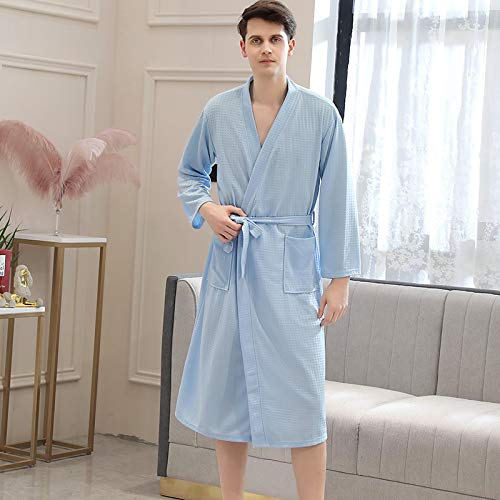 Bata De Baño De Verano para Hombre, Bata De Baño para Chupar Agua, Bata De Noche Sexy para Hombre, Batas De Kimono De Talla Grande para Mujer, Ropa De Dormir para Sa