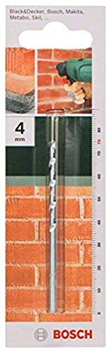 Bosch 2609255420 75mm Masonry Drill Bit with Diameter 4mm