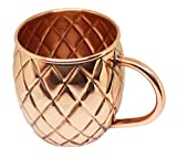Articia Copper Moscow Mule Mug Cup Barware Ayurveda and Yoga Health Benefits Drinkware
