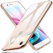 Bert Henry Hülle für iPhone 7/8,Transparent Silikon Handyhülle,Anti-Scratch Silikon TPU Bumper Schutzhülle für iPhone 7/8,Durchsichtig Case Cover für iPhone 7/iPhone 8