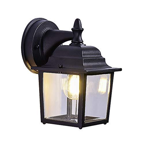 Design Wall Lamp Courtyard Light Facade Lantern Stainless Steel Porch Lighting