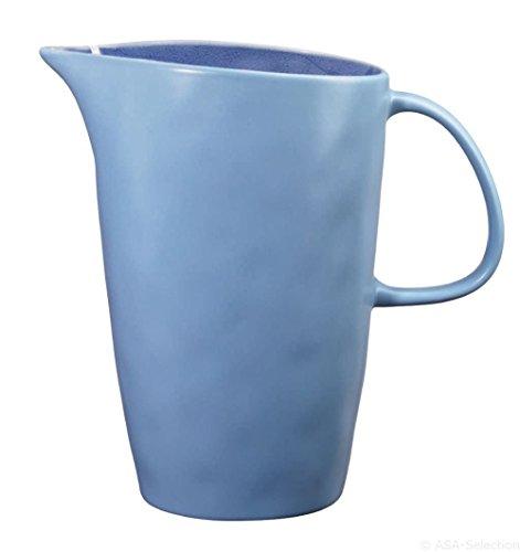 ASA 12169098 Pichet en Porcelaine 15 x 8 x 18 cm Bleu