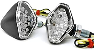 Krator Mini Custom LED Turn Signal Indicator Lights Lamp For Honda VTX 1300 1800 Valkyrie Rune 1500