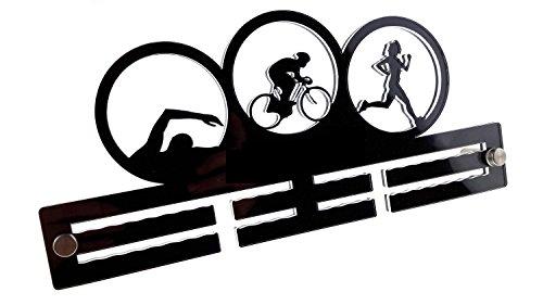 Origin Triathlon Triathlete Ladies Girls Woman Sport Acrylic Running Medal Holder/Hanger: 29 cm Size Display