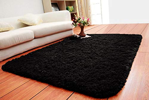 ACTCUT Super Soft Indoor Modern Shag Area Silky Smooth Rugs Fluffy Anti-Skid Shaggy Area Rug Dining Living Room Carpet Comfy Bedroom Floor