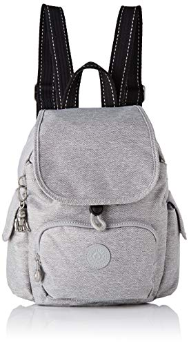 Kipling Damen City Pack Mini Rucksack Grau (Chalk Grey)
